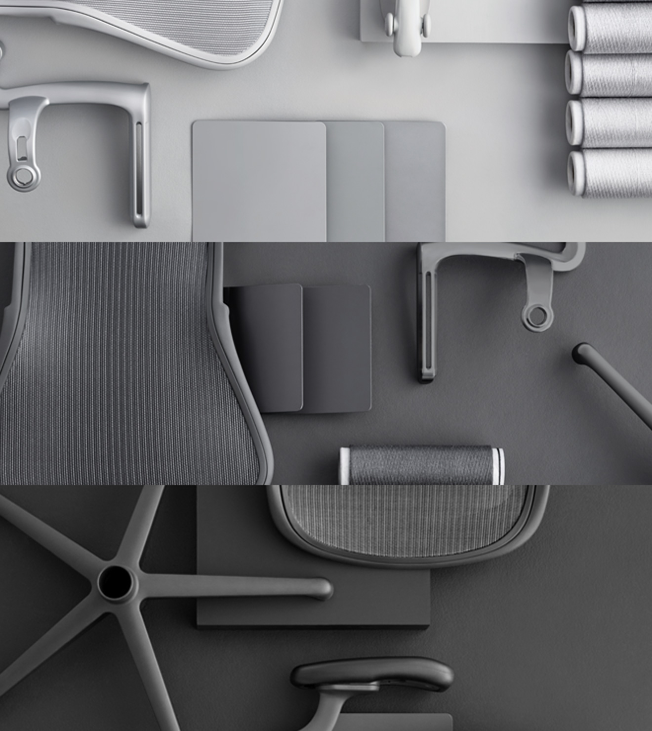 Aeron - A broad colour palette