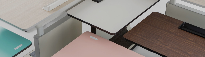 Productive Office Ergonomic Desking System