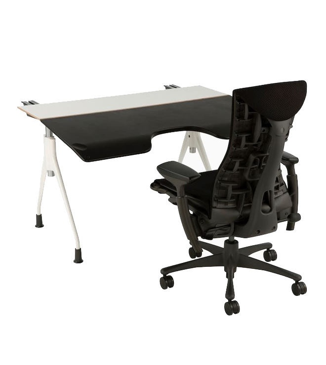 Compatible Seating and Desking Arrangement