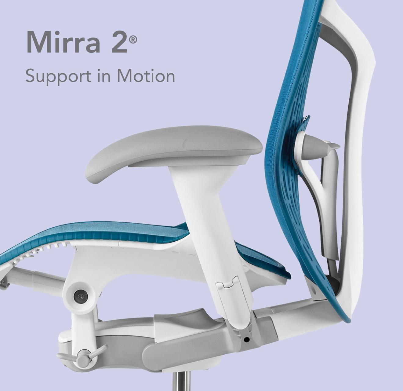 Mirra 2 Chair's Stylishly Designed Dynamic Support