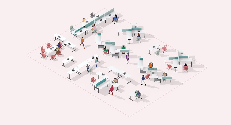 Atlas Office Landscape - Challenge Your Space
